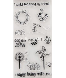 Clear Stamp, Sunshine, Sold individually