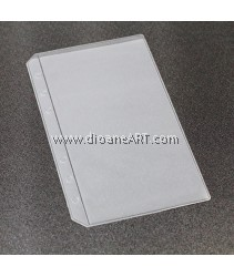 Receive Bag, for Spiral Type 6 holes Notebook/Planner, PVC, A6 size, sold by per pcs