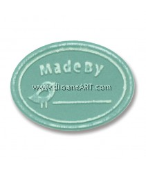 Sizzix Embosslits Die - Phrase, Made By