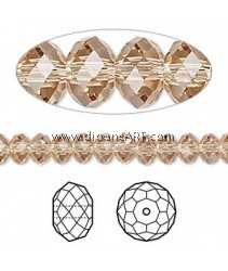 SWAROVSKI, 5040 ,8MM ,LT.COL.TOP, 246, 6PCS/PACK