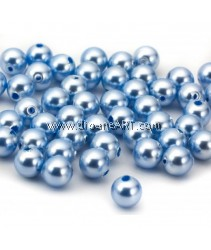 SWAROVSKI, 5810, 8MM, LIGHTBLUEPEARL, 50PCS/PACK
