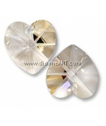 SWAROVSKI, 6202, 14.4MM ,CRY SILVSHADE, 001SSHA ,2PCS/PACK
