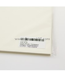 Card Stock, Compass 270gm, (Champagne), 12x12