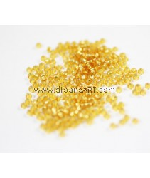 Miyuki Beads, R.R - 4, Gold, Size 8/0, Sold by per pack/10g