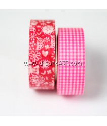 Washi Tape #16, 15mm x 10m each,  2/pack