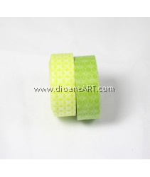 Washi Tape #2, 15mm x 10m each, 2/pack