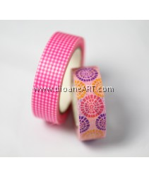 Washi Tape #20, 15mm x 10m each , 2/pack