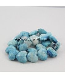 Natural Coral Beads, Nuggets, Sponge Coral, Blue, around 20x16mm, Hole: Approx 1~2mm, Length: 15Inch, pack/1strand