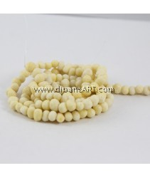 Natural Coral Beads, Nuggets, Sponge Coral, yellow, around 6-18mm, Hole: Approx 1~2mm, Length: 15Inch, pack/1strand