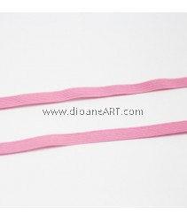 Elastic Strap, Pink Colour, 6mm, 3 meters/pack