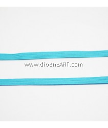 Elastic Strap, sky blue Colour, 6mm, 3 meters/pack