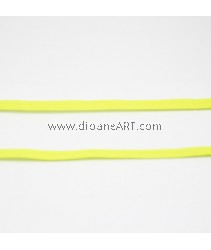 Elastic Strap, Yellow Colour, 6mm, 3 meters/pack