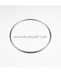 Ring for dream-catcher making, dia:160mm, thickness:5mm 1 pcs/pack
