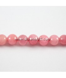 Natural Marble Beads, Round, 6mm, Hole: Approx 1.8mm, Length: 15.3Inch, pack/1strand
