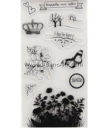 Clear Stamp, Garden2, Sold individually