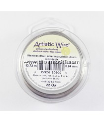 STAINLESS STEEL WIRE,22 GA 15 YD SPL