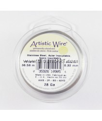 STAINLESS STEEL WIRE, 28 GA 40 YD SPL