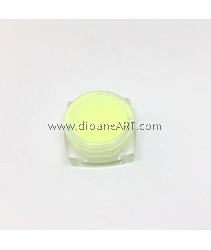 Glow-in-the-Dark powder for Resins, Colour: Fluorescent  yellow , around 12g/container