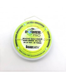 POWER PRO .011 30 LB TEST MOSS GREEN 28 YARD SPOOL